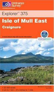 image of Isle of Mull East (Explorer Maps)