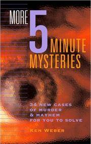 More 5 minute Mysteries