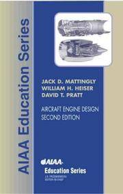 Aircraft Engine Design, Second Edition (AIAA Education) by  University of Washington  U.S. Air Force Academy; and D. Pratt - Hardcover - Signed - 2003-08-15 - from First Coast Books LLC and Biblio.com
