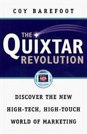 The Quixtar Revolution: Discover the New High-Tech, High-Touch World of Marketing by  Coy Barefoot - Paperback - from Wonder Book (SKU: I11E-00142)
