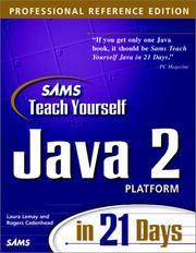 Sams Teach Yourself Java 2 Platform in 21 Days, Professional Reference Edition