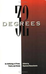32 Degrees: Prose, Poetry and Drama from Concordia University's Creative Writing Program