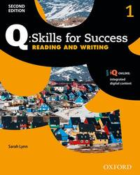 Q: Skills for Success 2E Reading and Writing Level 1 (Q Skills for Success 2nd Edition) by Lynn, Sarah
