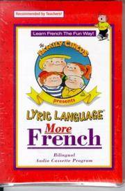 Lyric Language: French/English: Series 2: Audio Cassette