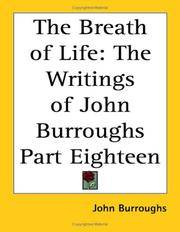 image of The Breath Of Life: The Writings Of John Burroughs