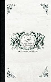 image of The Human Comedy and Other Short Novels