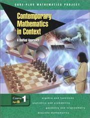 Contemporary Mathematics In Context