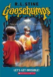 image of Let's Get Invisible (Goosebumps Series)