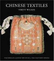 image of Chinese Textiles: Victoria & Albert Museum, Far Eastern Series