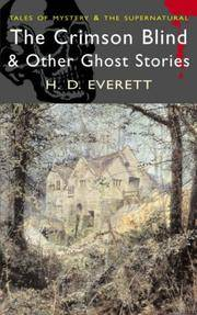 The Crimson Blind and Other Ghost Stories
