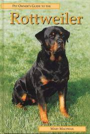 Pet Owner's Guide to the Rottweiler