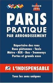 R12 Paris pratique par arrondissements (Plans indicateurs Paris banlie) [Paperback] Atlas...