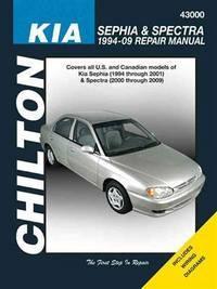 KIA Sephia & Spectra, 1994-2009 (Chilton's Total Car Care Repair Manuals)