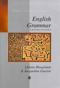 English Grammar: A Generative Perspective