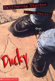 Ducky (California Diaries #5) by  Ann M Martin - Paperback - First Printing - 1998 - from Novel Ideas Books and Biblio.com