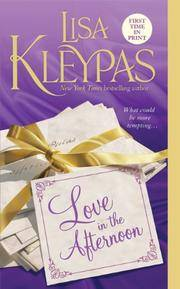 image of Love in the Afternoon (Hathaways, Book 5)