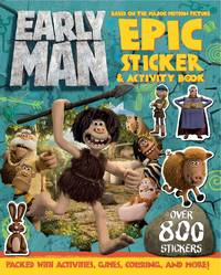 Early Man Sticker and Activity Book