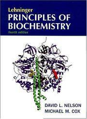 Lehninger Principles of Biochemistry by David L. Nelson - Hardcover - 2009 - from Anybook Ltd and Biblio.com