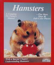 HAMSTERS How to Take Care of Them and Understand Them