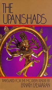 The Upanishads by Eknath (Trans) Easwaran - Paperback - from Better World Books  and Biblio.com