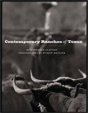 image of Contemporary Ranches of Texas (M K BROWN RANGE LIFE SERIES)