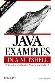 image of Java Examples in a Nutshell: A Tutorial Companion to Java in a Nutshell (In a Nutshell (O'Reilly))