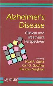 C.G. Gottfries, Neal R. Cutler (Hardcover, 1995)