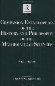 Companion Encyclopedia of the History and Philosophy if the Mathematical Sciences, Vol. 2 (Vol 2)...