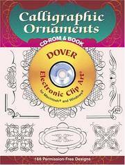 Calligraphic Ornaments Cd-Rom and Book