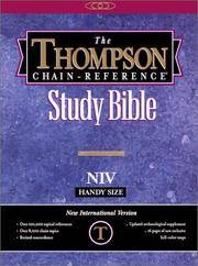 image of Thompson Chain Reference Bible (Style 839burgundy index) - Handy Size NIV - Bonded Leather