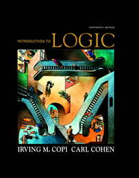 image of Introduction to Logic (13th Edition)