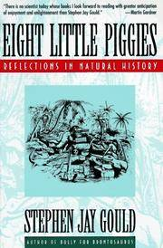 Eight Little Piggies: Reflections in Natural History by  Stephen Jay Gould - Paperback - 1993 - from Mindstuff Books and Biblio.com