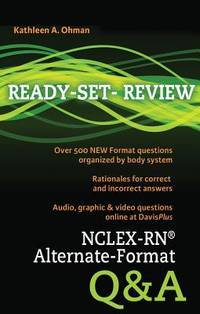 NCLEX-RN® Alternate-Format Q&A (Ready Set Review)