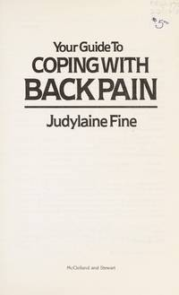 Your Guide to Coping with Back Pain