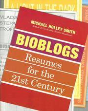 Bioblogs : Resumes for the 21st Century