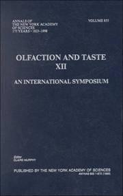 Califo International Symposium on Olfaction and Taste 1997 San Diego (Hardcover, 1999)