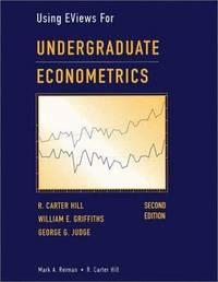 Undergraduate Econometrics, Using Eviews for