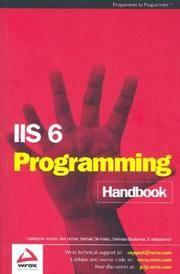 IIS6 Programming Handbook