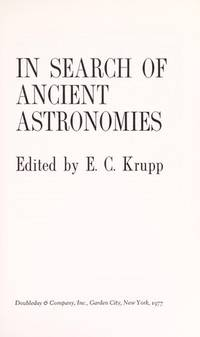 In Search of Ancient Astronomies