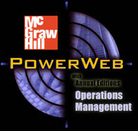 image of OPERATIONS MANAGEMENT: CONTEPORARY CONCEPTS AND CASES WITH CD-ROM & POWERWEB