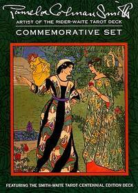 Pamela Colman Smith Commemorative Set : Featuring The Smith Waite Tarot Centennial Edition Set...