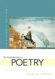 An Introduction to Poetry (Eleventh Edition)