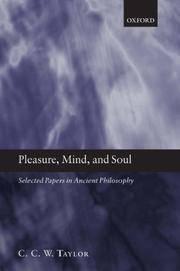 Pleasure, Mind, and Soul