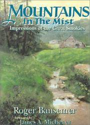 MOUNTAINS IN THE MIST: Impressions of the Great Smokies by  James)  Roger (Michener - Hardcover - 1993 - from Balcony Books and Records (SKU: 17693)