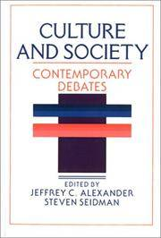 Culture and Society: Contemporary Debates