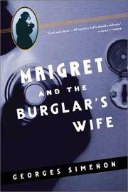 Maigret and The Burglar's Wife