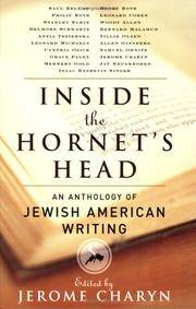 image of Inside the Hornet's Head: An Anthology of Jewish American Writing