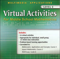Virtual Activities for Middle School Mathematics Level 3 (Mathematics Applications and Concepts...