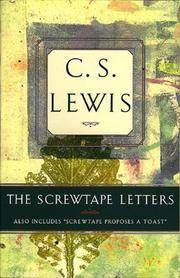 "image of The Screwtape Letters: Also Includes ""Screwtape Proposes a Toast"