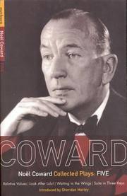 image of Noel Coward Plays 5